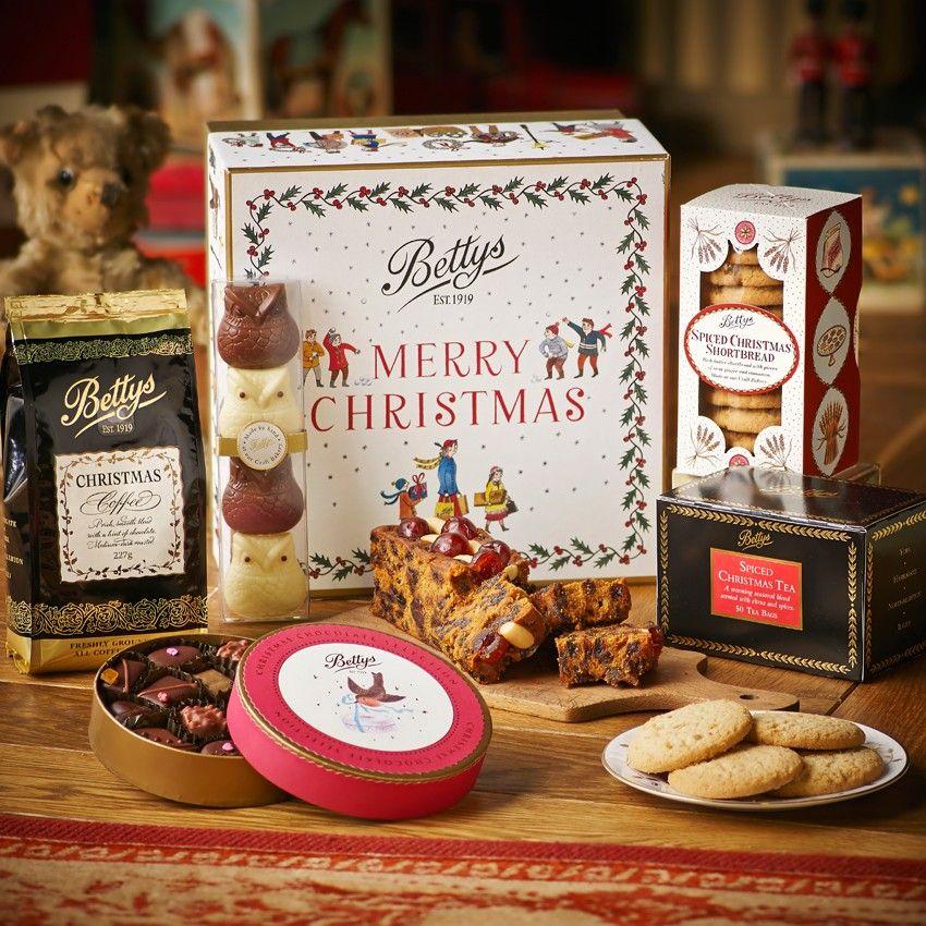 Christmas Gift Box from Betty\u0027s Harrogate, UK Please may I have