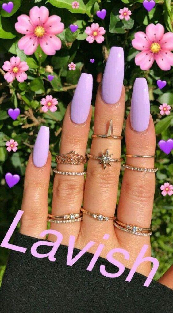Photo of 5 faszinierende lila Nagel-Design-Ideen: Beste Nail Art-Design-Ideen #Nails