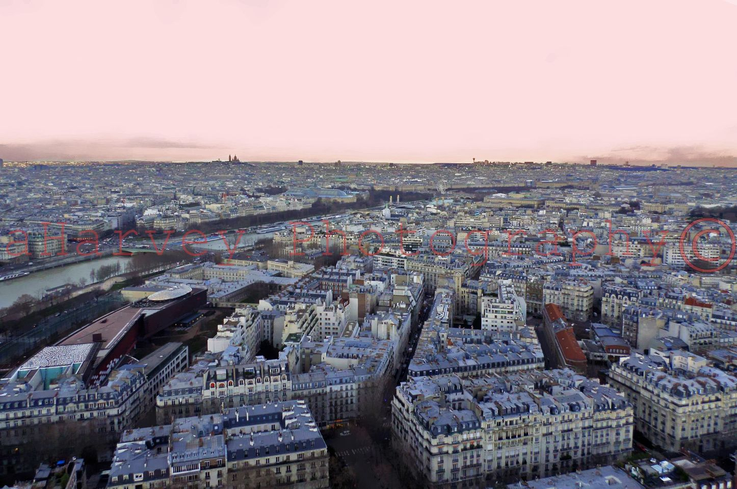 A View From The Arc De Triomphe