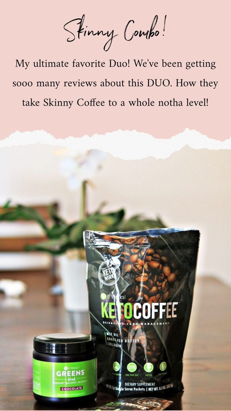 Itworks keto energy coffee together it works products