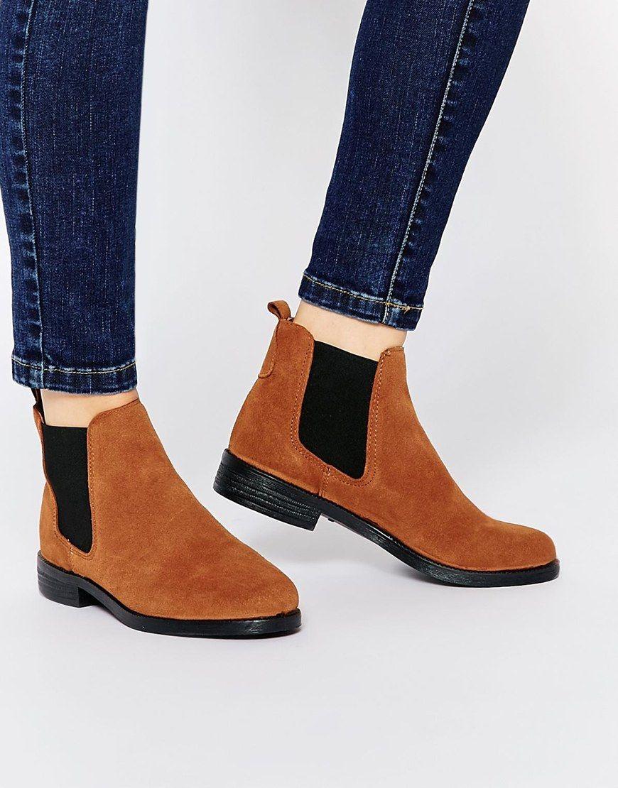 River Island Flat Chelsea Boots