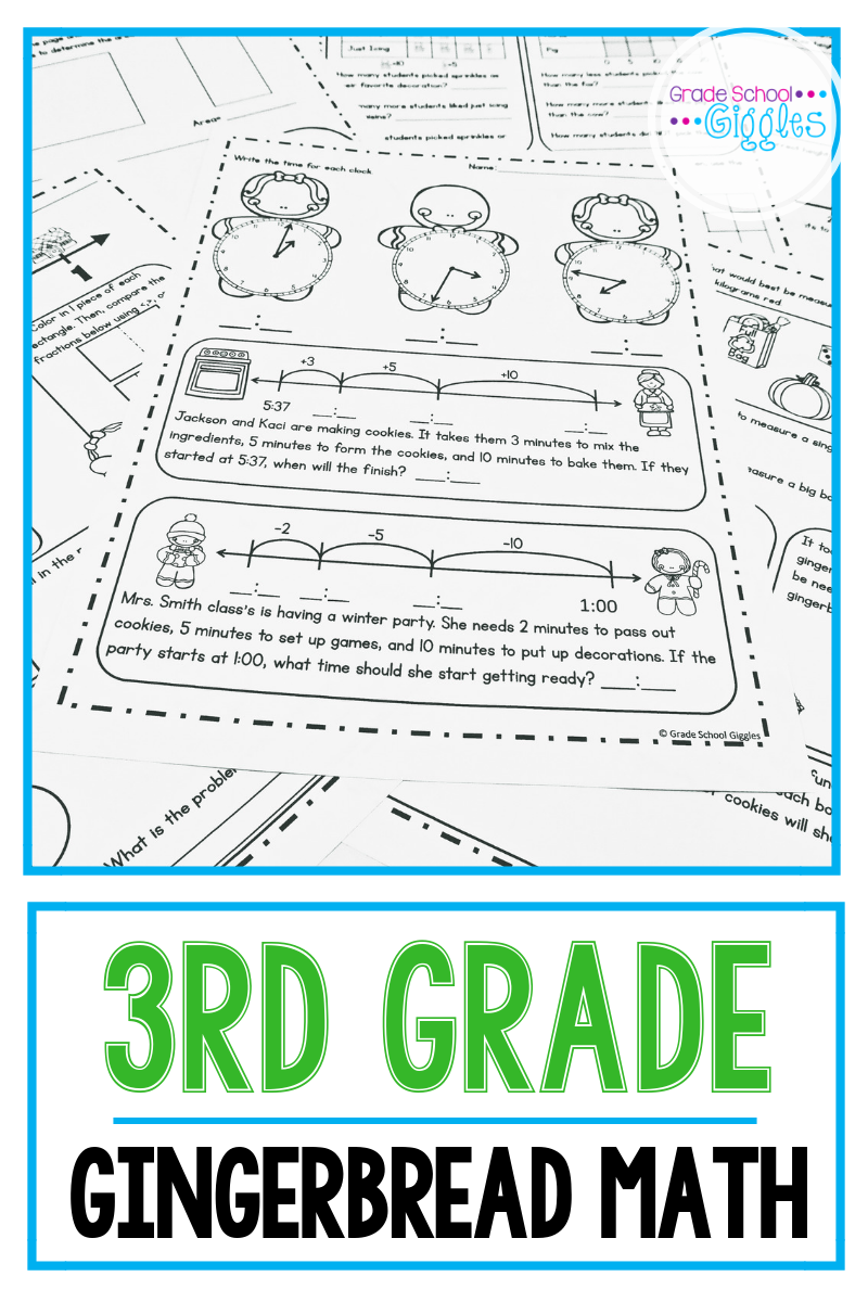 Do You Teach 3rd Grade If So You Know The Third Grade Math Curriculum Is Packed There Are S Christmas Math Worksheets Elementary School Math Math Worksheets [ 1200 x 800 Pixel ]