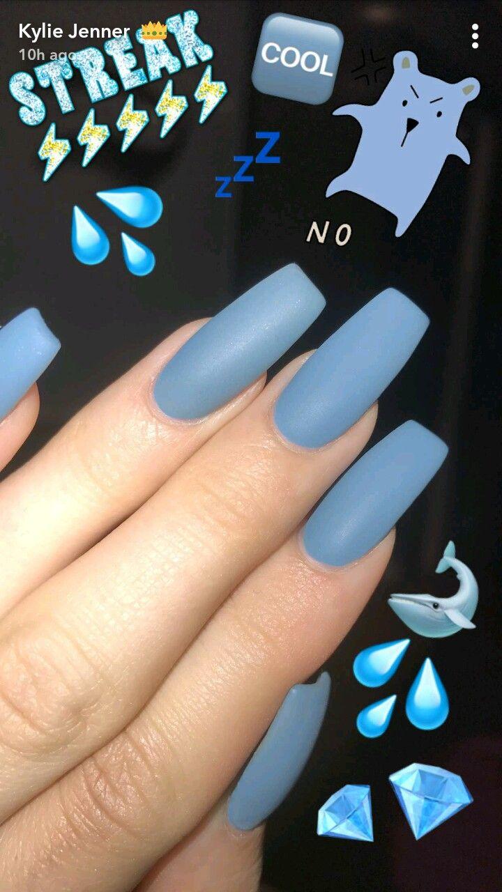 Kylie jenner nails | Nails design | Pinterest | Diseños de uñas ...