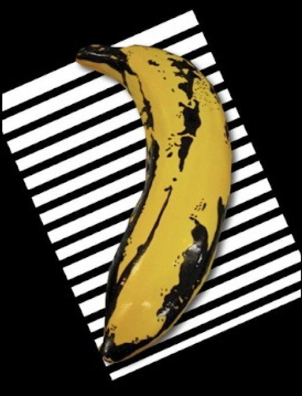Warhol Velvet Underground Andy Warhol Banana Warhol Sculpted Cakes