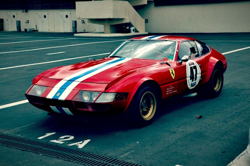 Ferrari 365 GTB/4 Daytona GT Class LeMans | Ferrari classic cars ...