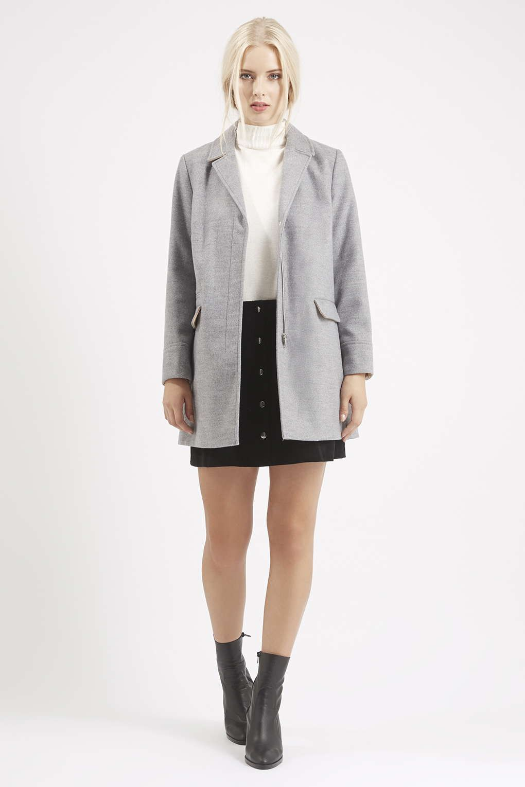 PETITE Slim Pocket Coat - New In Fashion - New In | Topshop ...