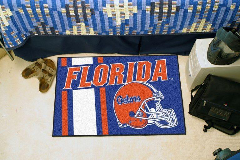 University of Florida Uniform Inspired Starter Rug