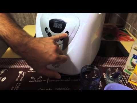 Pãozinho doce feito na Máquina de fazer pão, Espaço das delícias culinárias - YouTube