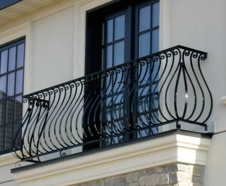 Landscaping And Outdoor Building House Balcony Railing Ornate