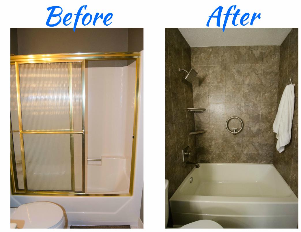 Complete Bathroom Remodel New Tub New Wall Surround Corner