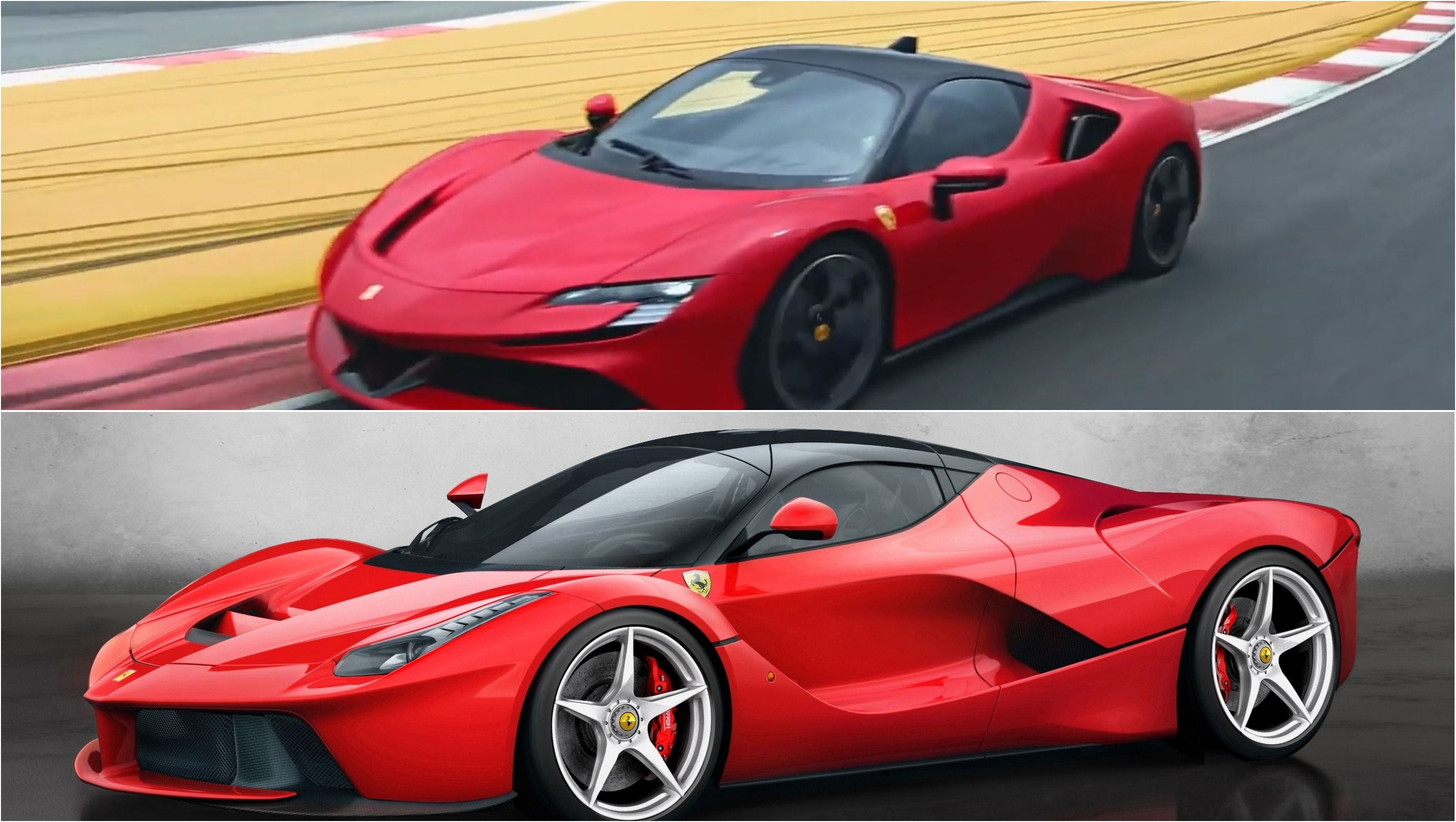 Ferrari Hybrid Showdown Sf90 Stradale Vs Laferrari With Images