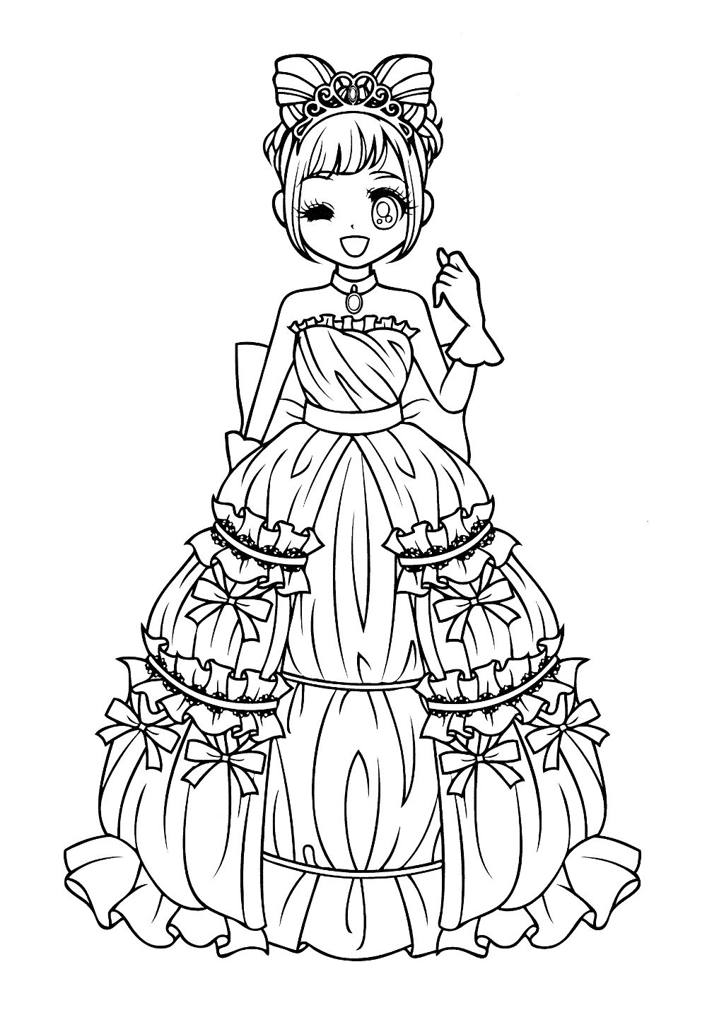 coloring sheets coloring pages coloring books chibi princess coloring pages queen for kids colouring pages vintage coloring books