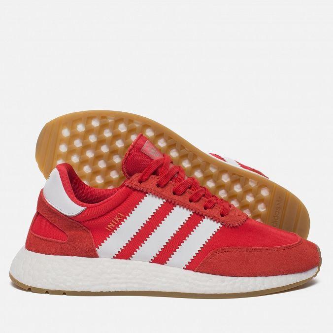 Кроссовки I-5923 Red/White/Gum | Adidas Iniki | Adidas ...