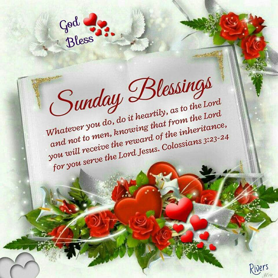 Sunday Blessings good morning sunday sunday quotes blessed ...