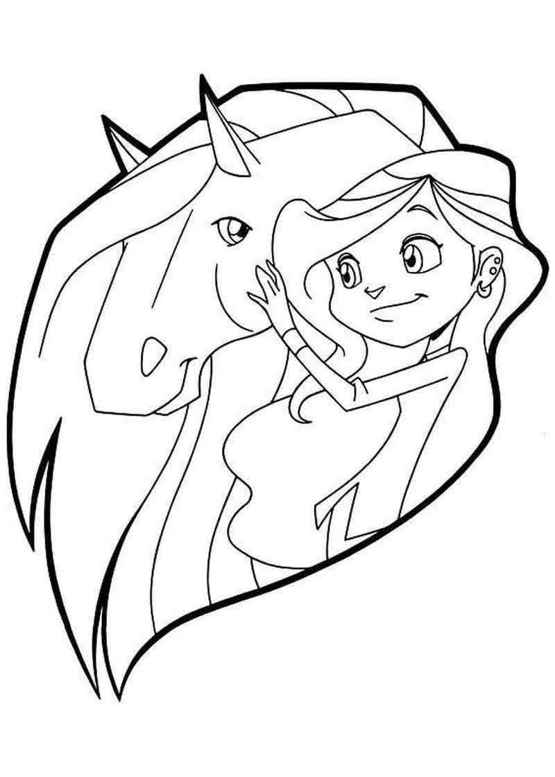 Horseland Coloring Pages For Kids Horse Coloring Pages Cartoon Coloring Pages Animal Coloring Pages
