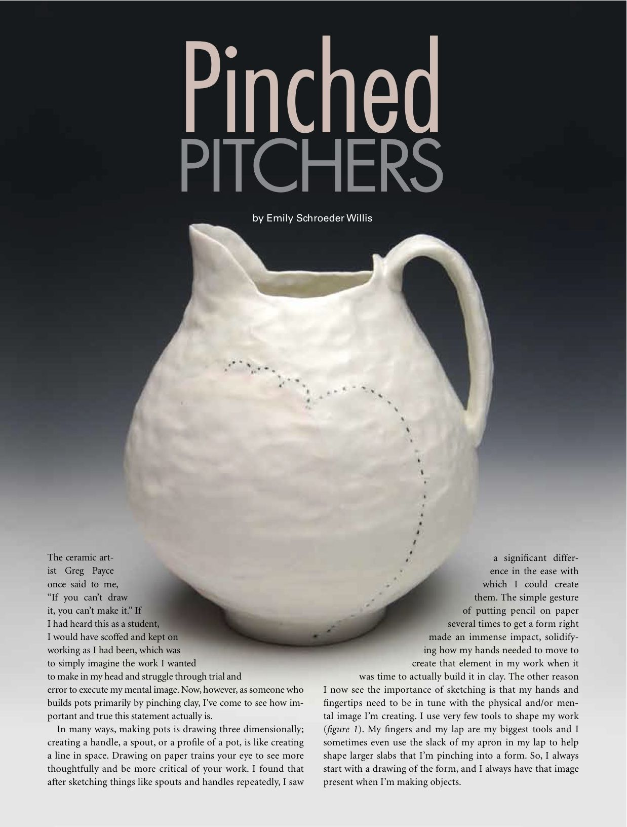 Have you seen me pottery handbuilding clay pinch pots