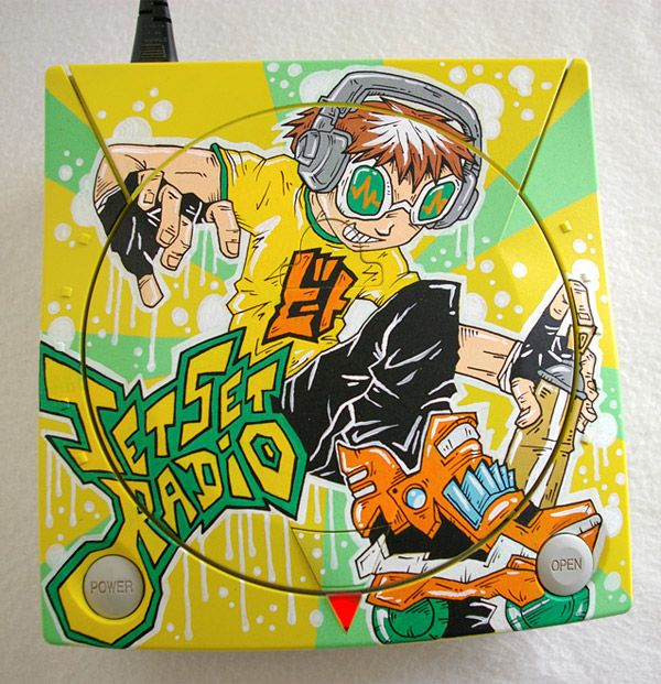 Custom Jet Set Radio Dreamcast.