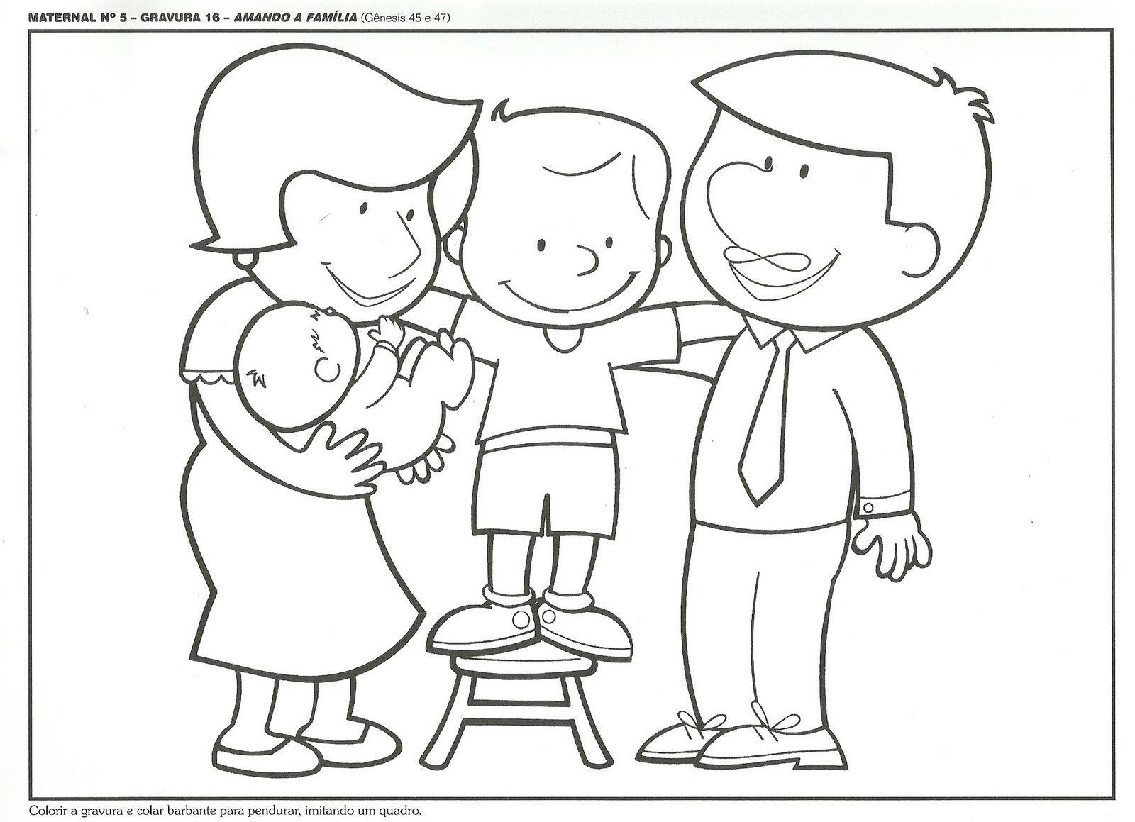 Desenhos para colorir - Familia para colorir | Coloring Pages ...