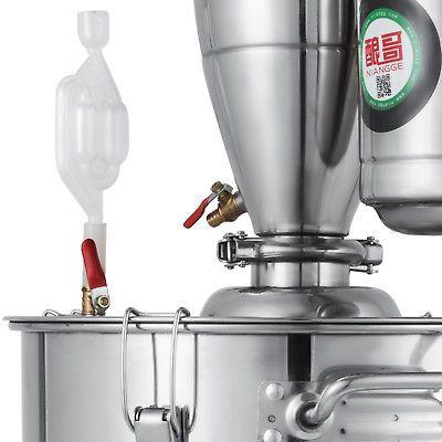 Details about 30L Alcohol Distiller Brewing Kit Home ...