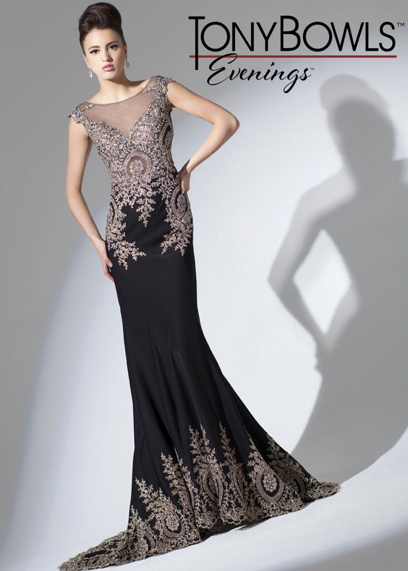 Tony Bowls Evenings TBE11571 Stunning Evening Gown