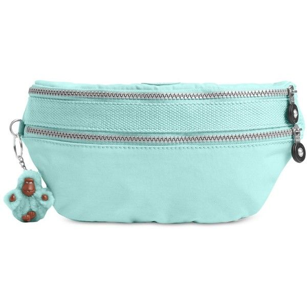 1c34a9b030f Kipling Yasemina Fanny Pack ($59) ❤ liked on Polyvore featuring bags,  seafoam green, waist bag, kipling bags, kipling fanny pack, kipling and  travel belt ...