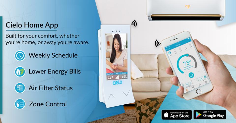 Cielo Breez Heat pump, Smart technologies, Energy bill