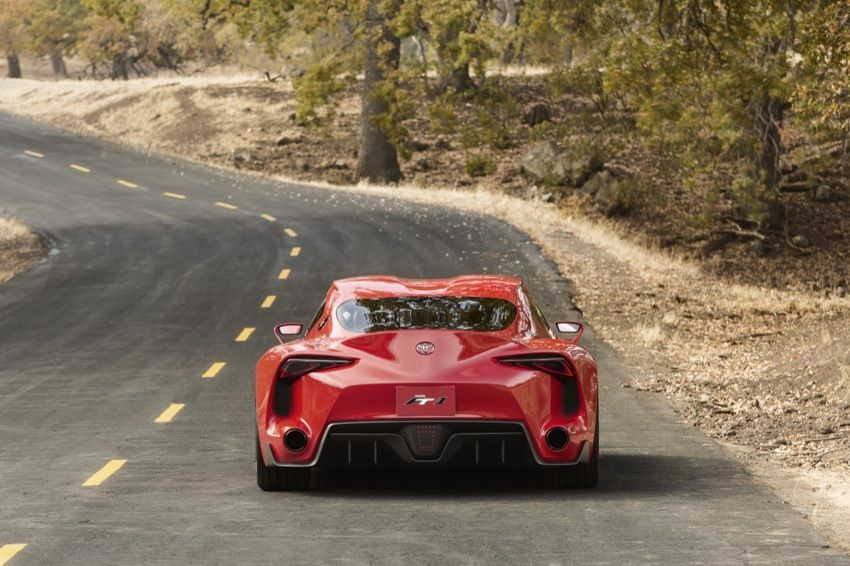 Toyota has stunned crowds at the Detroit motorshow today with this astonishing concept, the FT-1. You have to see this.