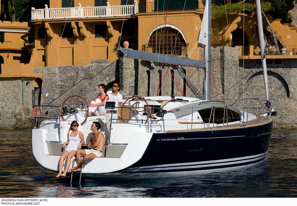 Jeanneau Sun Odyssey 44ds Yacht Charter Greece Sailing Greece Boat