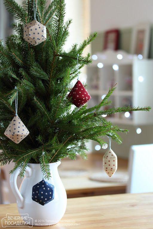 Как сшить сосульки и льдинки / Icicle Christmas ornaments tutorial ...