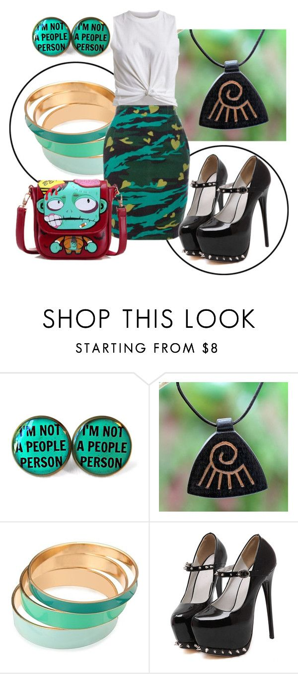 """""""Untitled #4402"""" by pampire ❤ liked on Polyvore featuring NOVICA and BeiBaoBao"""
