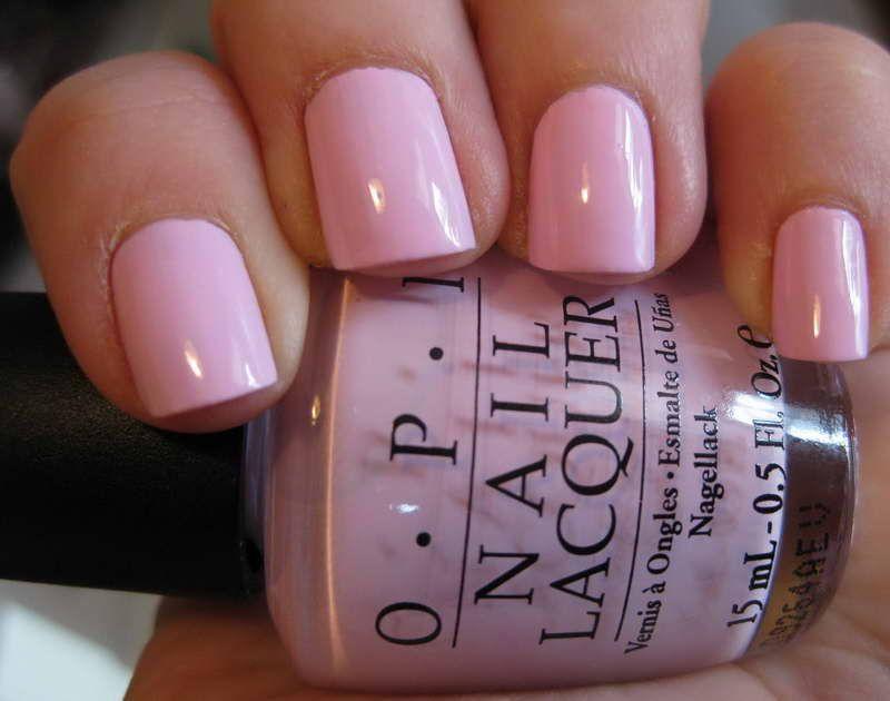 Opi Nail Polish Color Pink With Young