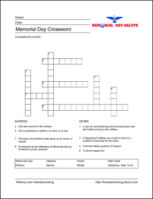 Learn About Memorial Day With Free Printables Classroom Ideas And