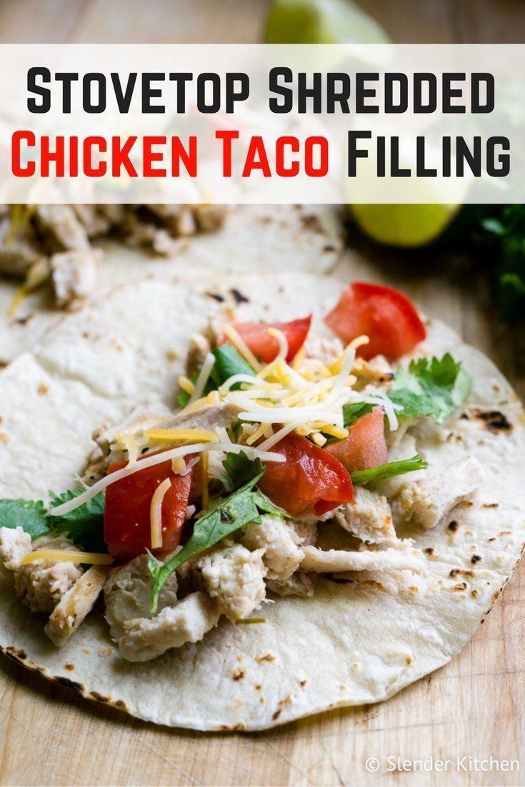 Stovetop Shredded Chicken Taco Filling #shreddedchickentacos Stovetop Shredded Chicken Taco Filling #healthyrecipes #slenderkitchen #dinner #lunch #kidfriendly #makeahead #quickandeasy #shreddedchickentacos Stovetop Shredded Chicken Taco Filling #shreddedchickentacos Stovetop Shredded Chicken Taco Filling #healthyrecipes #slenderkitchen #dinner #lunch #kidfriendly #makeahead #quickandeasy #shreddedchickentacos