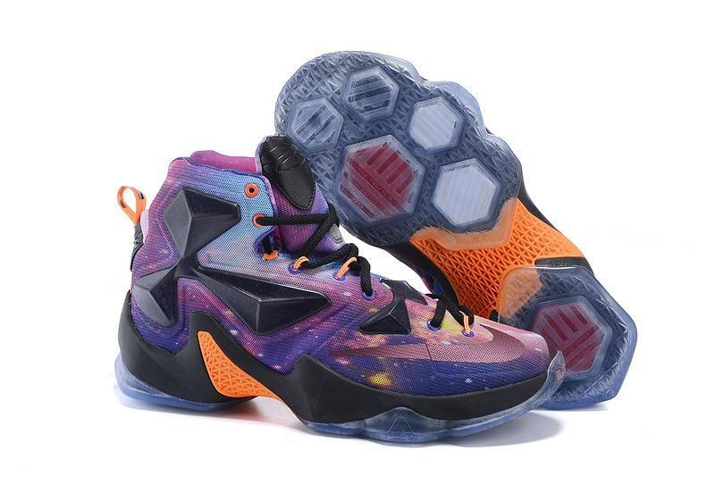 Nike Lebron 13 Mens All Star Purple Black Orange