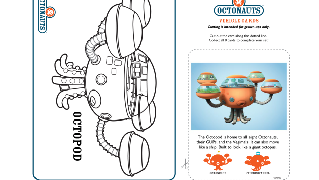 Octopod Disney Junior Octonauts Disney Junior Octonauts Birthday Party