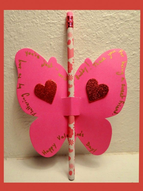 Make Valentine Cards Ideas Part - 32: Easy To Make, D.I.Y., Valentineu0027s Day Butterfly Cards (with Tutorial)
