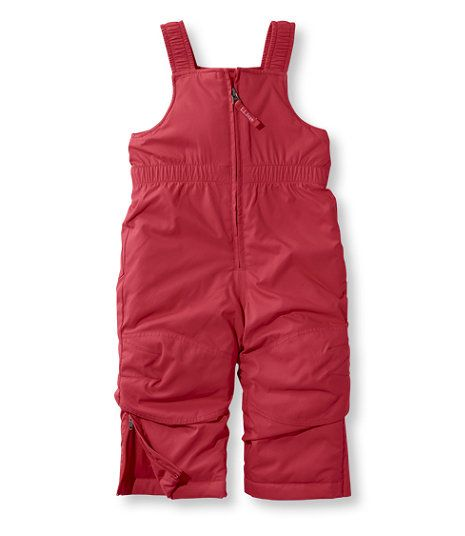 675102596f7b Toddlers  Cold Buster Snow Bibs in molten red color