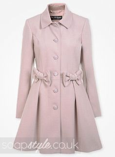 Eva Price's Pink Bow Coat | clothes | Pinterest | Coronation ...