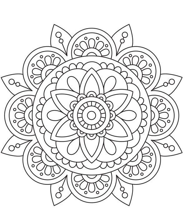 Color Therapy Coloriage Coloriage Mandala Peace Healing
