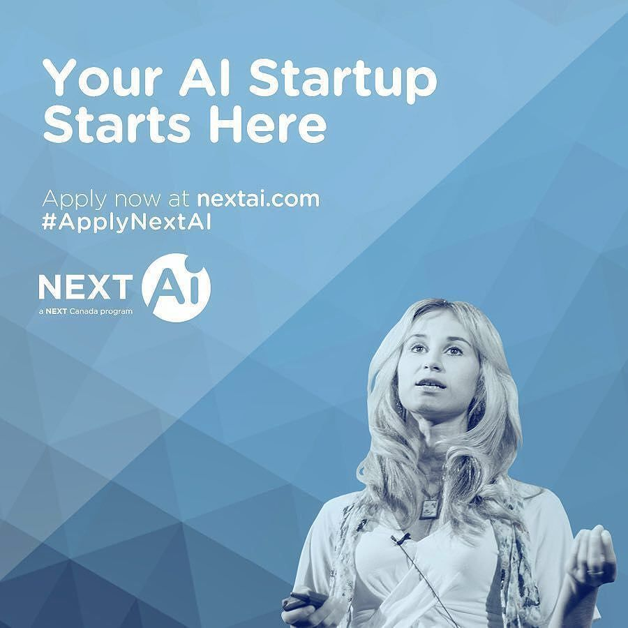 Calling all AI and machine learning innovators! Have big ideas about how to solve massive problems with AI? NextAI will get you there. Join a global hub of experts educators investors and entrepreneurs to take your AI startup to the next level. Visit www.nextai.com to learn more & apply today!     #ApplyNextAI . . . . #machinelearning #algorithm #deeplearning #AI #innovation #nextgen #hustle #entrepreneurship #entrepreneur #founder #dailygrind #robot #quantum #makerculture #automation…