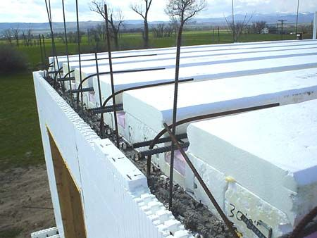 Shelterworks ltd manufacturers of faswall insulated for Icf concrete floors