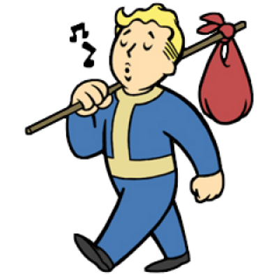 Free Download Vault Boy Walking Transparent Png Image Clipart Picture With No Background Games Vault 81 Boy Walking Vault Boy Boys Sticker