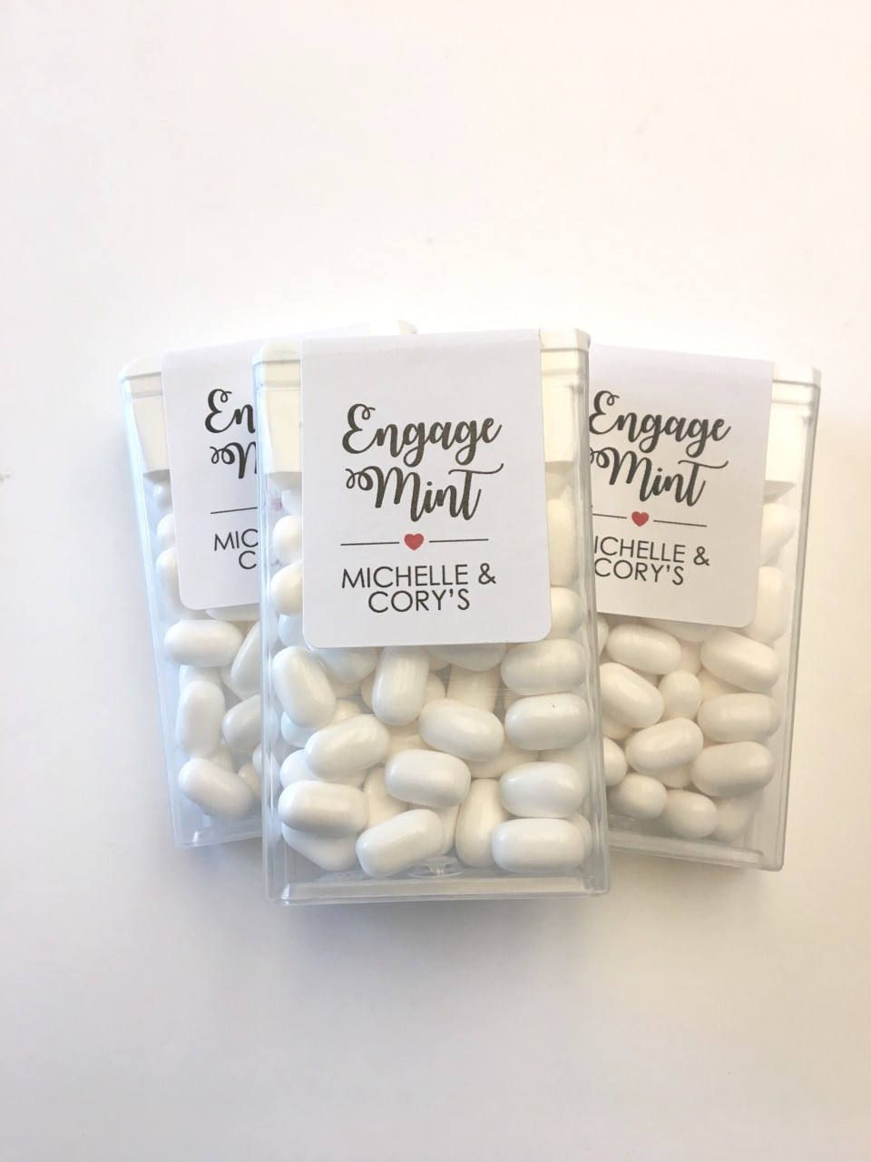 Wedding Favors, Tic Tac Labels, Mint To Be labels, Bridal Shower Favors, Bachelorette Party, Engagement Party Favors, Wedding Label Favors