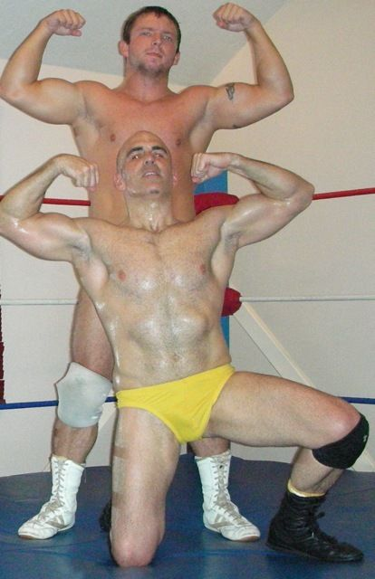 Meet gay wrestlers
