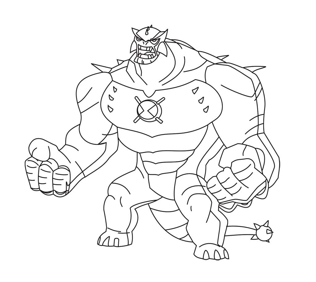 kids coloring pages ben10 - photo#18