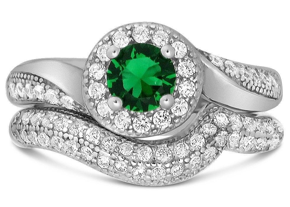 Pin by Gems Cove on Wedding Ring Set Wedding ring sets