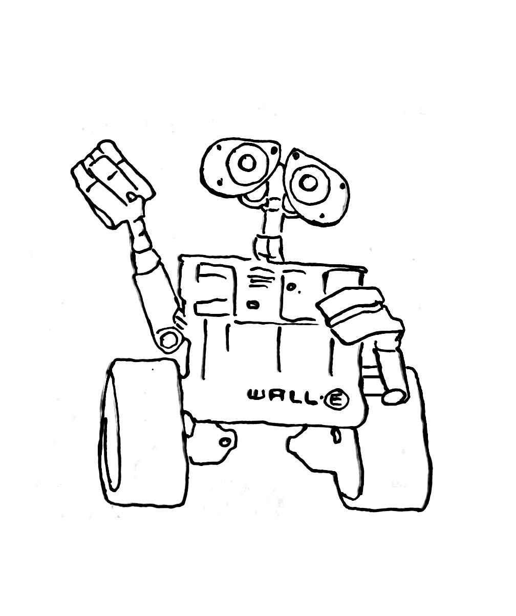Wall-e coloring pages | Embroidery | Pinterest | Walls and Embroidery