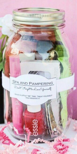 spa jar gift ideas pinterest spa and jar