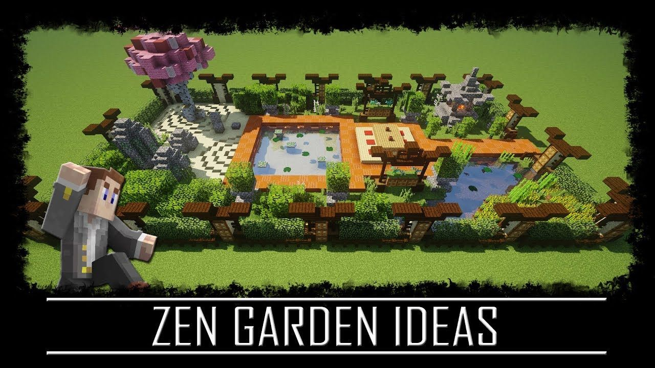 Minecraft Gartenideen Oriental Zen Garden Ideas Japanese Chinese Minecraft Tutorial