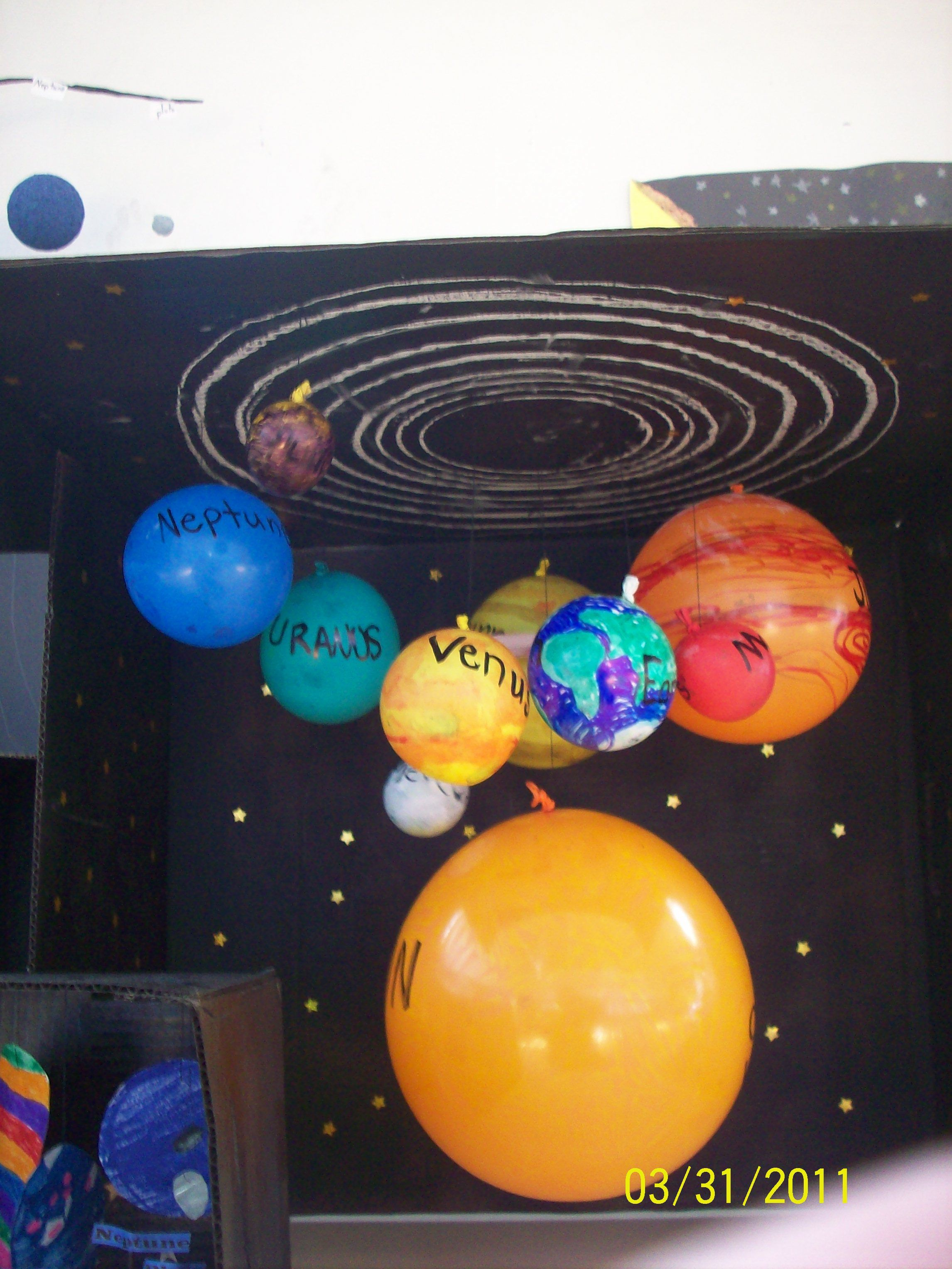 4th Grade Solar System Project Science Solar system
